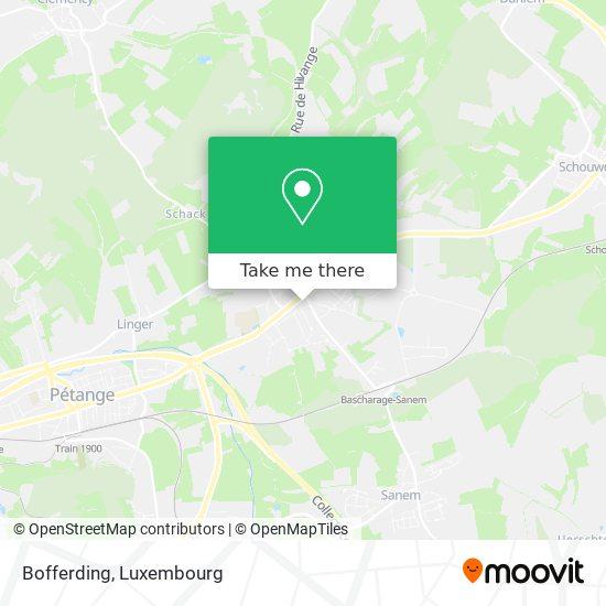 Bofferding map