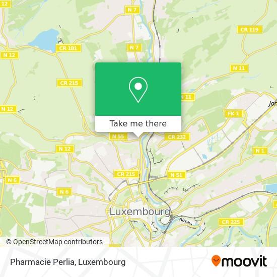 Pharmacie Perlia map