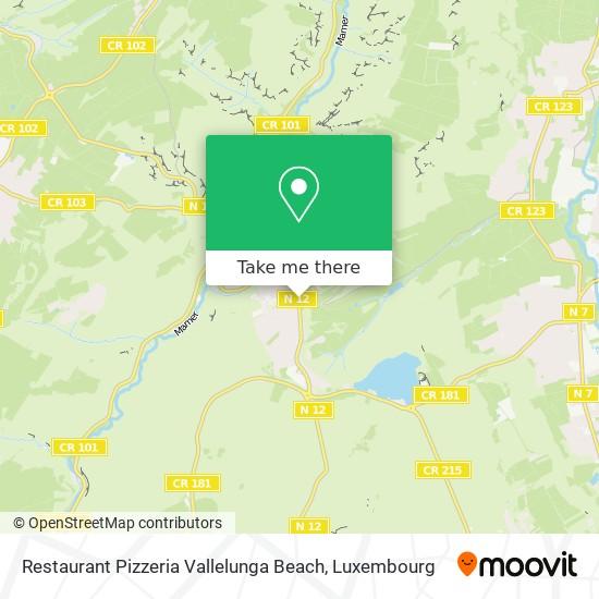 Restaurant Pizzeria Vallelunga Beach Karte
