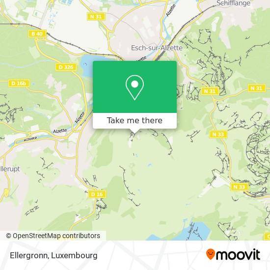 Ellergronn map