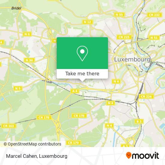 Marcel Cahen map