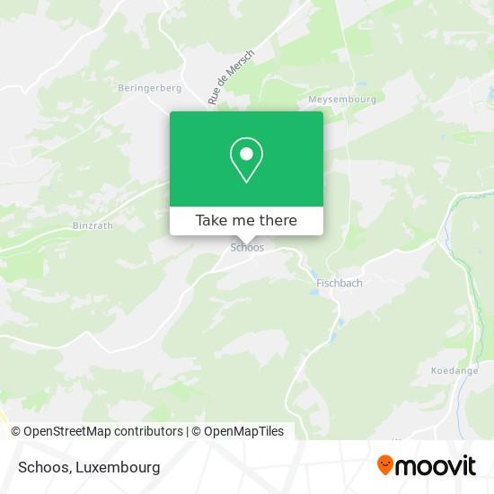 Schoos map