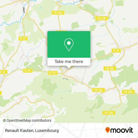 Renault Kauten map
