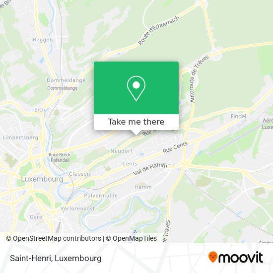Église Neudorf map