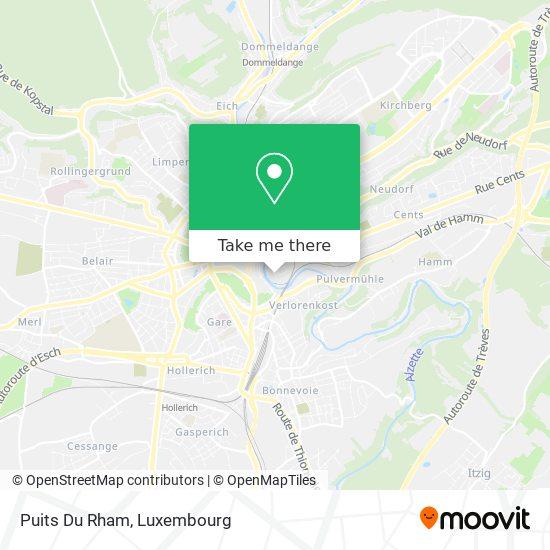 Puits Du Rham map