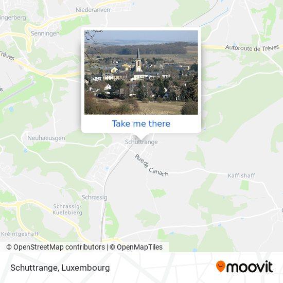 Schuttrange map