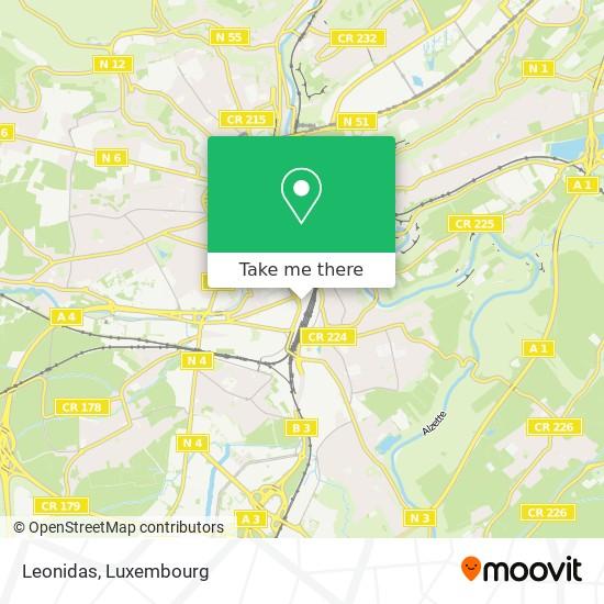 Leonidas map