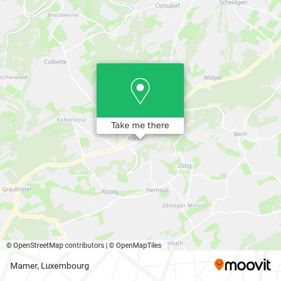 Mamer map