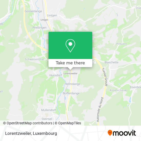 Lorentzweiler map