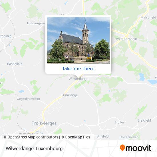 Wilwerdange map