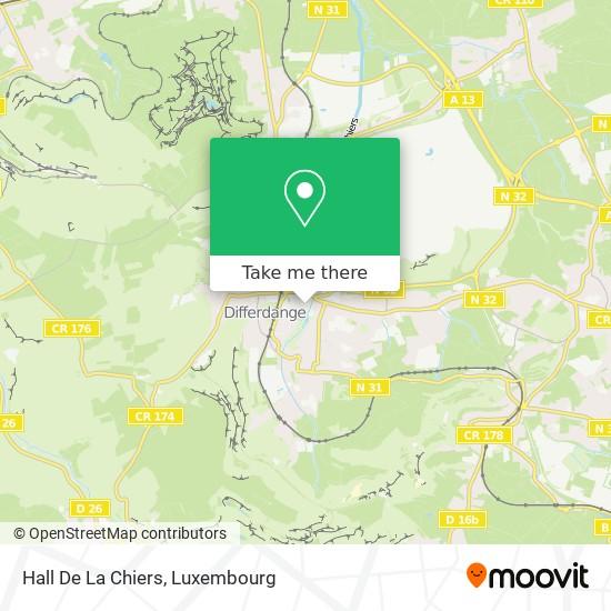Hall De La Chiers map