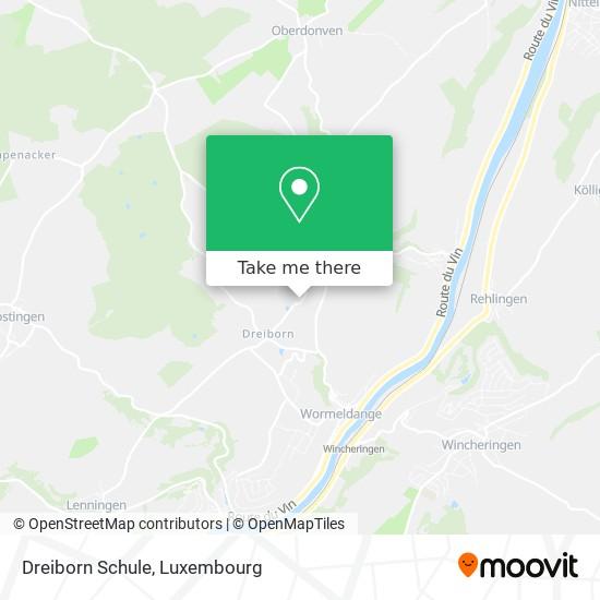 Dreiborn Schule map