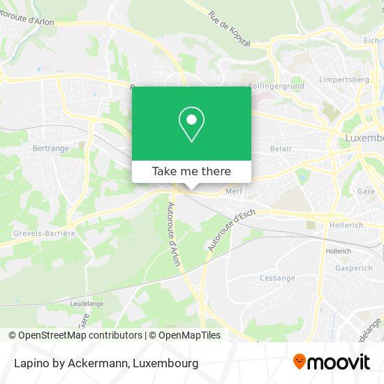 Lapino By Ackermann mapa