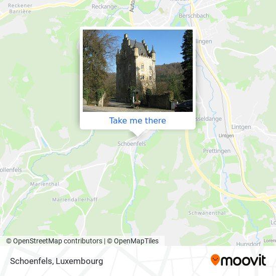 Schoenfels map
