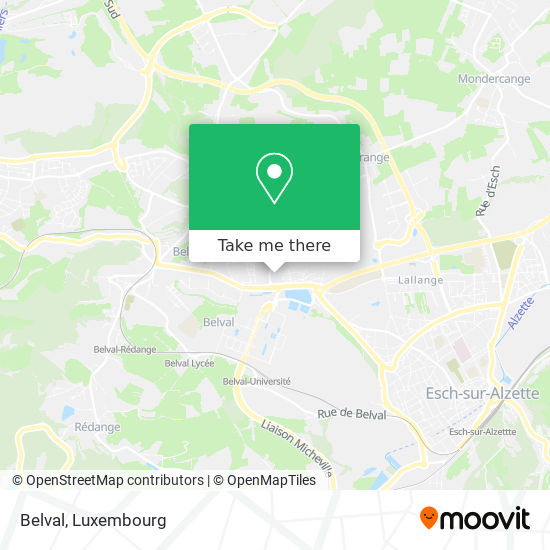 Belval map
