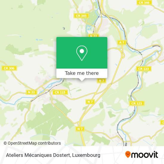 Ateliers Mécaniques Dostert map