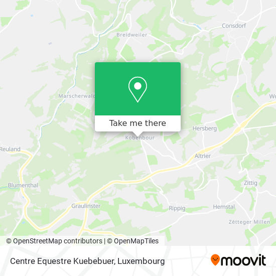 Centre Equestre Kuebebuer map