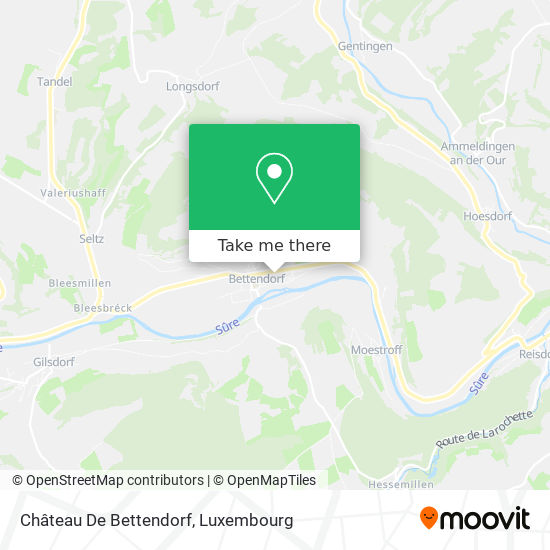 Château De Bettendorf map
