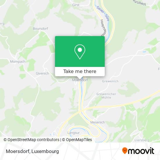 Moersdorf map