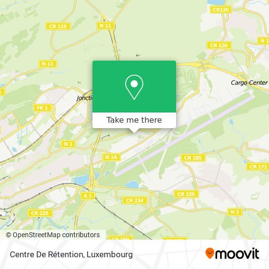 Centre De Rétention map