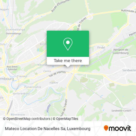 Mateco Location De Nacelles Sa map