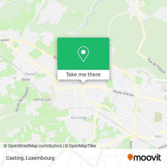Casting map