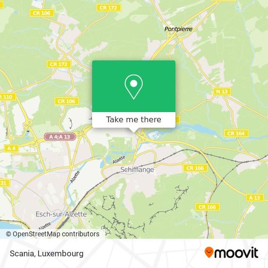 Scania map