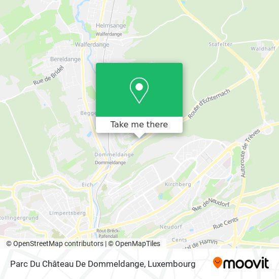 Ambassade De Chine map