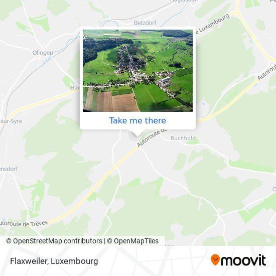 Flaxweiler mapa
