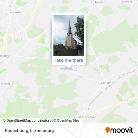 Rodenbourg map