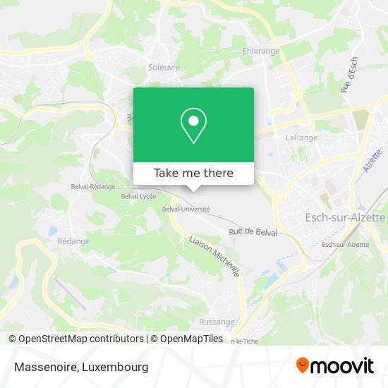 Massenoire map