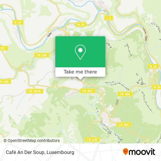 Café An Der Soup map