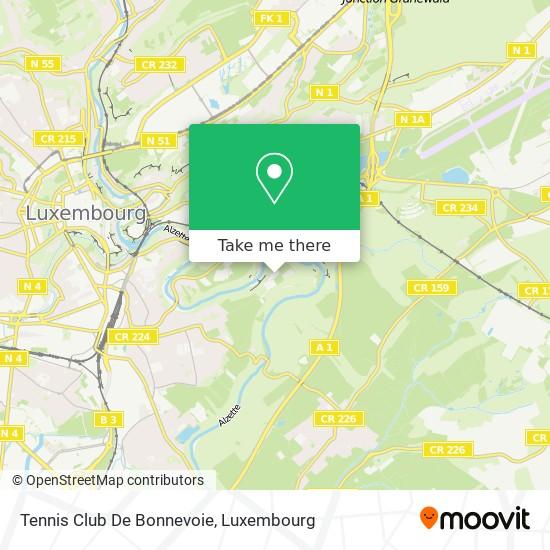 Tennis Club De Bonnevoie map
