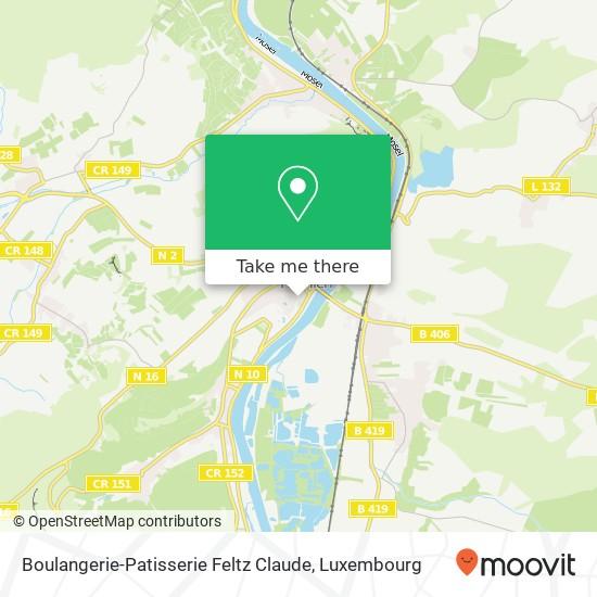 Boulangerie-Patisserie Feltz Claude mapa
