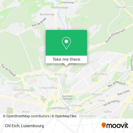 Clinique D'Eich map
