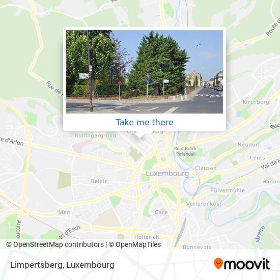Limpertsberg map
