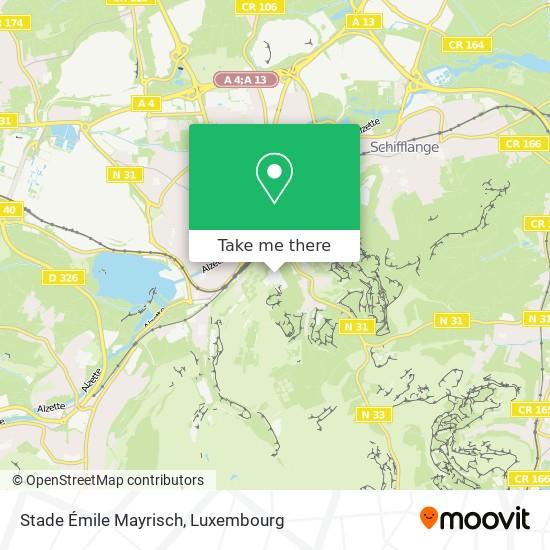 Stade Émile Mayrisch map