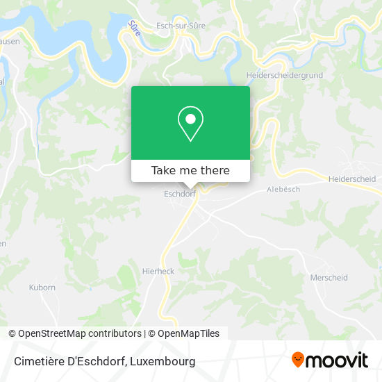 Cimetière D' Eschdorf map