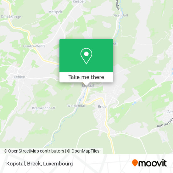 Kopstal, Bréck map