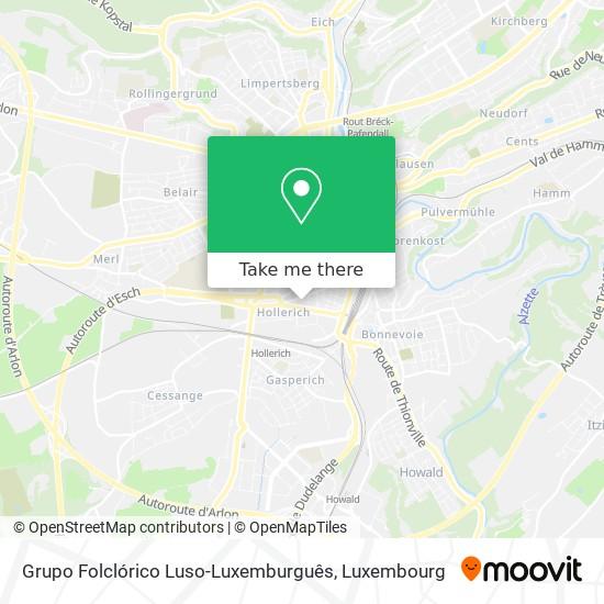 Grupo Folclórico Luso-Luxemburguês map