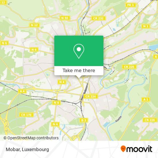 Mobar map