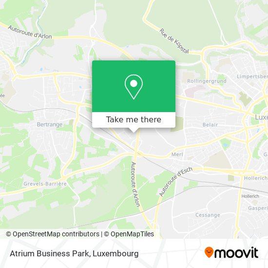 Atrium Business Park map