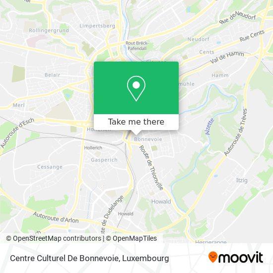Centre Culturel De Bonnevoie map