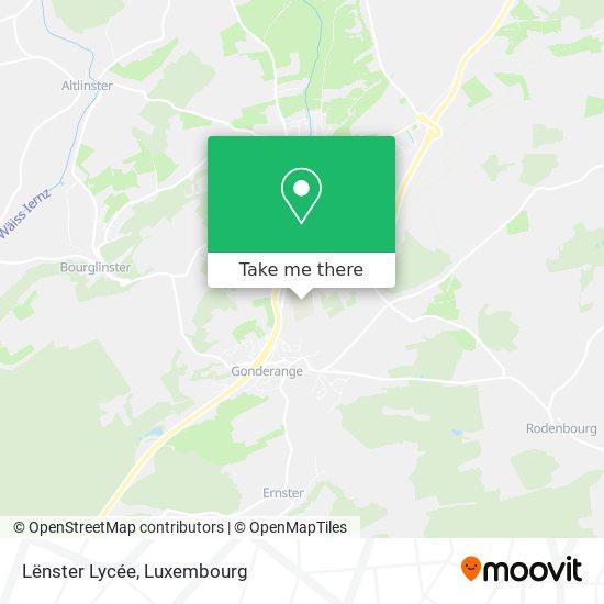 Lycée Lenster map