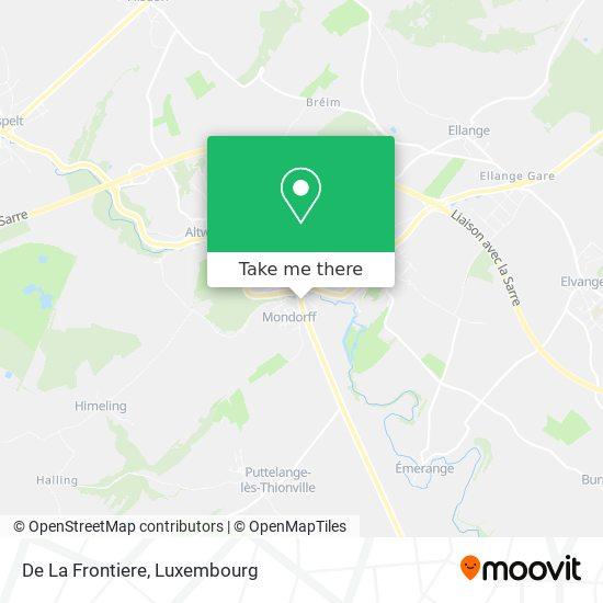 De La Frontiere map