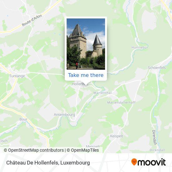 Château De Hollenfels map