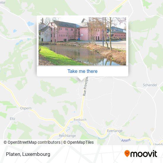 Platen map