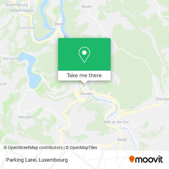 Parking Larei map