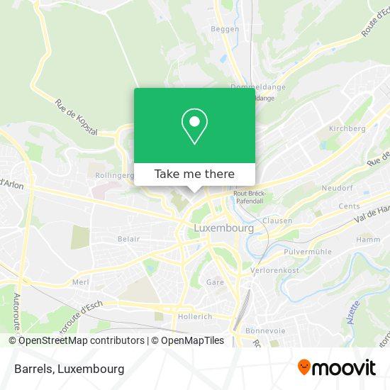 Hitch map