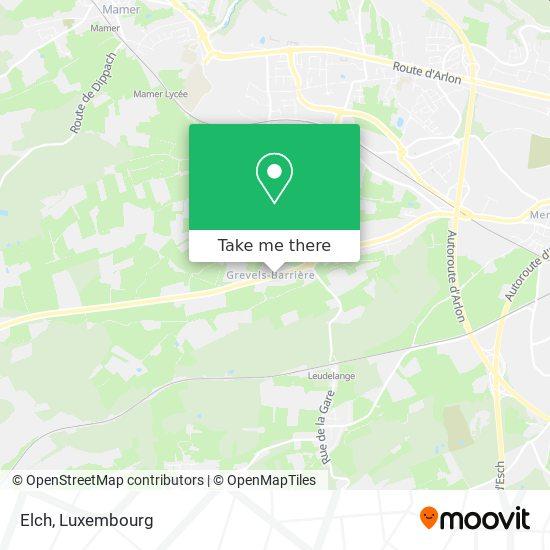 Elch map